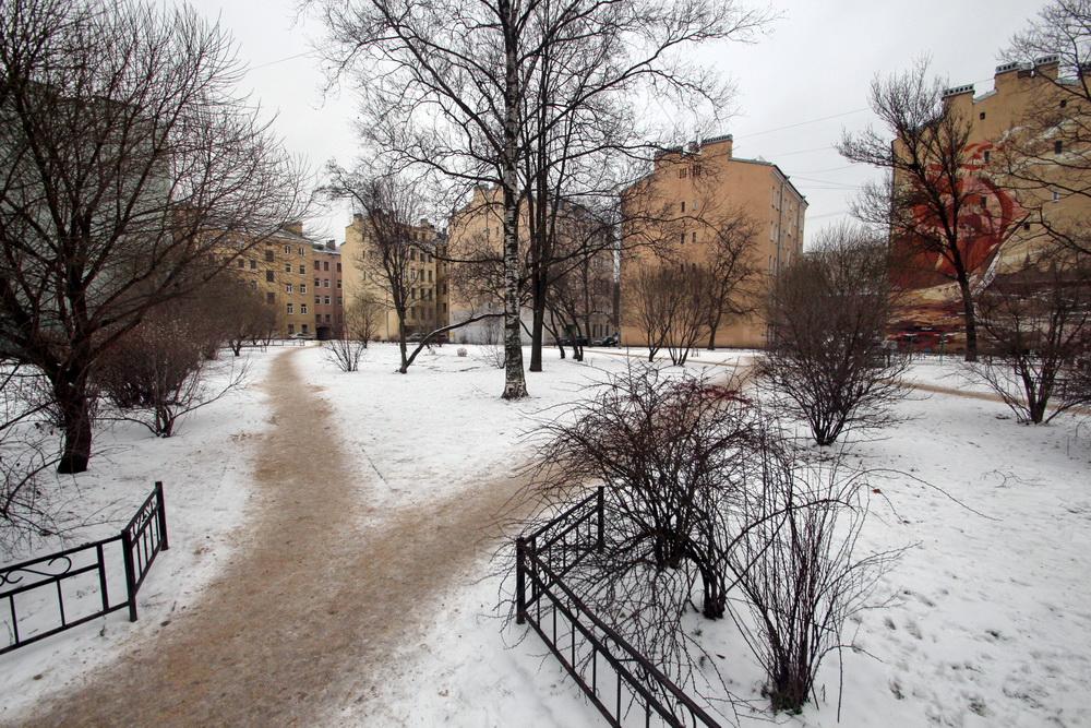 Курская улица, сквер