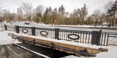 Мост в Сестрорецке на улице Воскова