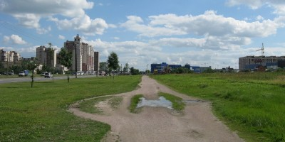 Парк вдоль Бухарестской