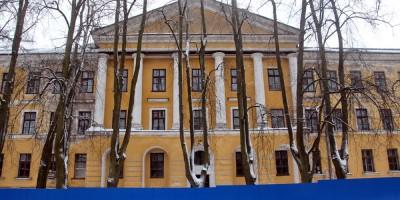 Портик дома на Захаржевской, 14