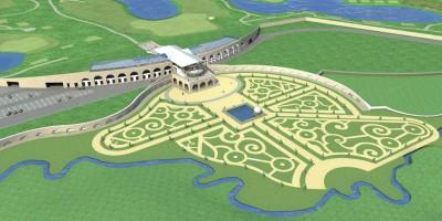 Проект гольф-клуба в Петергофе