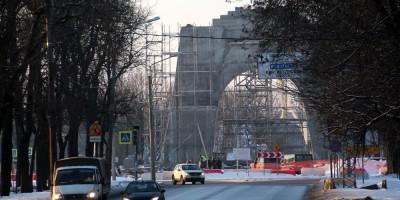 Проект Ленина, Арка Победы