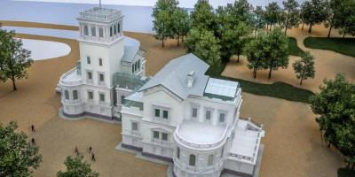 Проект Нижней дачи в Петергофе, общий план