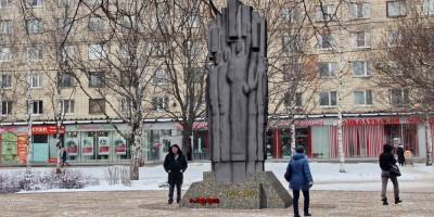 Проект памятника в сквере Блокадников