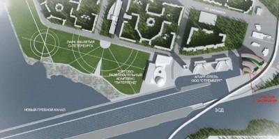 Новый гребной канал у парка 300-летия Петербурга