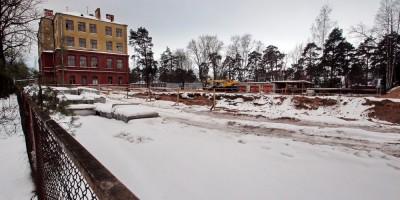 Реконструкция школы на улице Мосина
