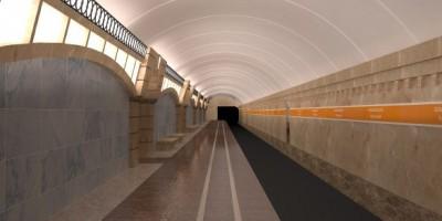 Станция метро Горный институт