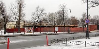 Строительство кормокухни в Ленинградском зоопарке