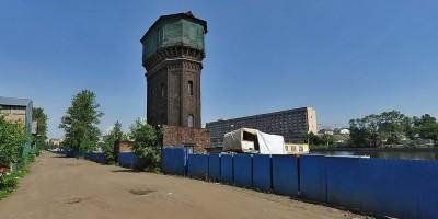 Водонапорная башня в Галерной гавани