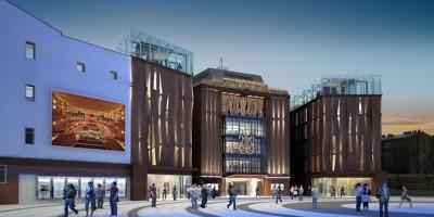 Концертный зал Мариинского театра, проект