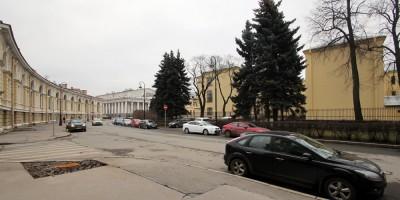 Биржевой проезд и институт Отта