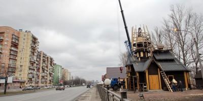 Церковь Василия Великого на проспекте Народного Ополчения