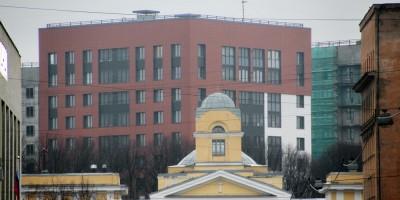 Европа-сити и Николаевская детская больница на Чапыгина