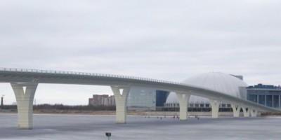 Мост в створе Яхтенной улицы