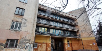 Общежитие ВМА на Боткинской