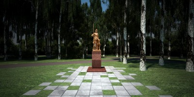 Памятник военным дрессировщикам