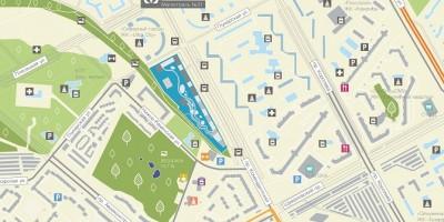 Планировка жилого комплекса на Комендантском проспекте