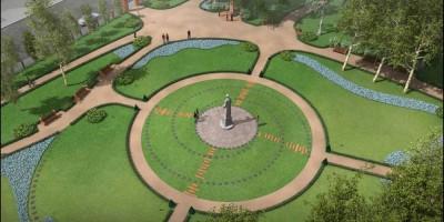 Проект благоустройства Камского сада