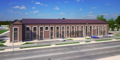 Проект бизнес-центра Малевич на Митрофаньевском шоссе