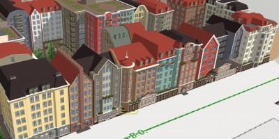 Проект домов на 12-й линии Васильевского острова