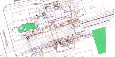 Проект подземного перехода на станции Удельная
