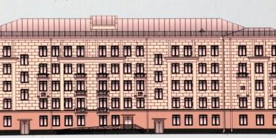 Проект поликлиники Северо-Западного таможенного управления на Московском