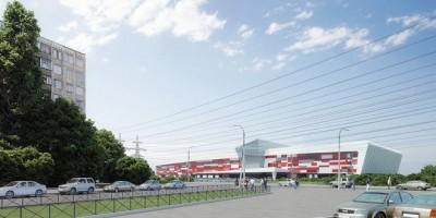 Проект торгового центра на Передовиков