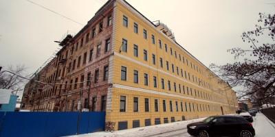Проектный институт № 1 в Державинском переулке