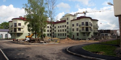 Пушкин, Гусарская улица, дом 9, корпус 5, двор