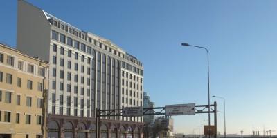 Пироговская набережная, проект гостиницы