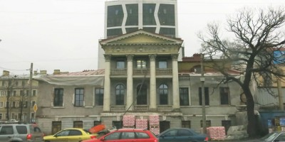 Реконструкция дома Глуховского