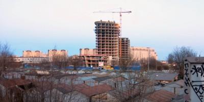 Строительство бизнес-центра Морская столица на Зольной улице