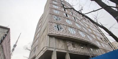 Строительство общежития на Павлова