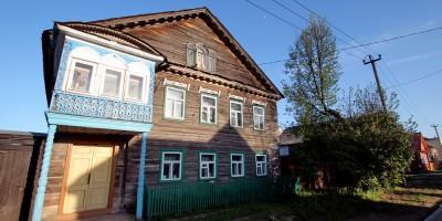 Тихвин, дом на Орловской улице