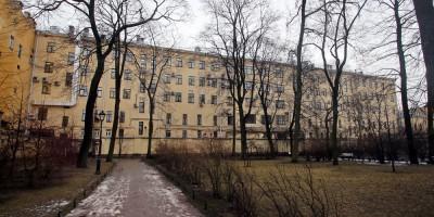 Задний фасад Шереметевского пассажа