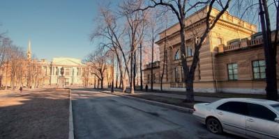 Здание учебной электростанции на Кленовой улице