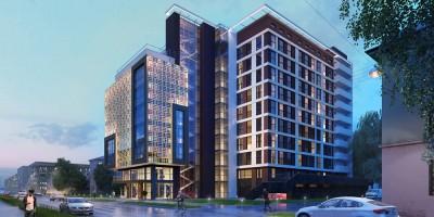 Большая Разночинная улица, проект бизнес-центра
