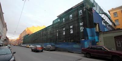 Казанская улица, фасад Пробирной палаты