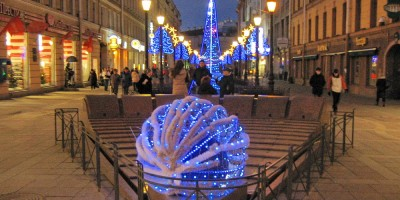 Малая Садовая, фонтан