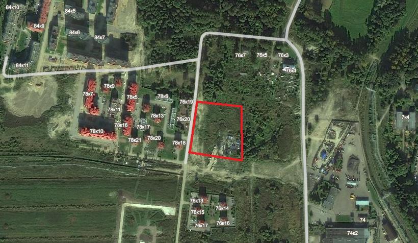 Петергофское шоссе, участок 123