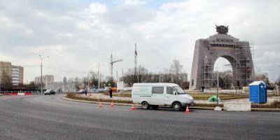 Площадь Воинской Славы в Красном Селе