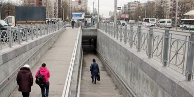Подземный переход под проспектом Ветеранов