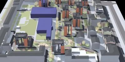 Проект реновации квартала на Лиговском
