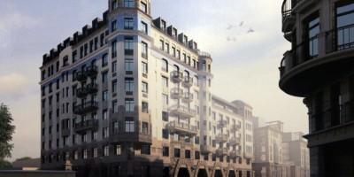 Проект жилого дома на Кирочной улице, 62