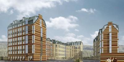 Проект жилого комплекса «Петергоф»