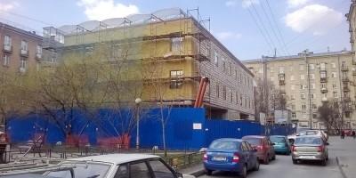 Строительство бизнес-центра на Московском, 193