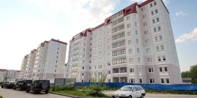 Жилые дома для военных на Петергофском шоссе