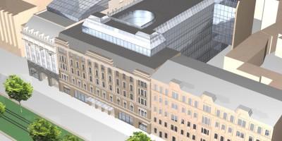 Проект новостройки на Лиговском проспекте