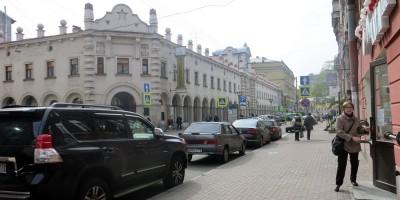 Кузнечный переулок у Кузнечного рынка