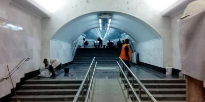 Новый выход со станции Спортивная